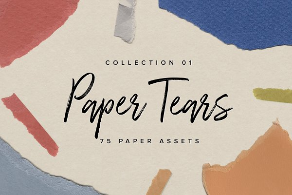 Objects: Nashville Assets Co. - Paper Tears 01