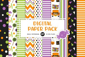 Trunk or Treat Digital Papers
