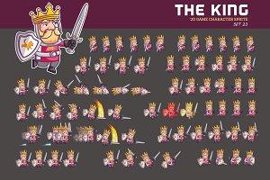 MEDIEVAL KING GAME SPRITE