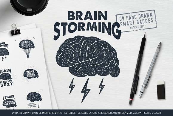 BrainStorming 09 Smart Badges