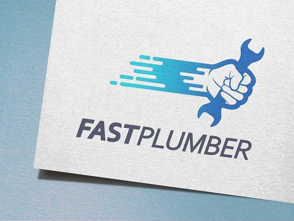 Fast Plumber Logo