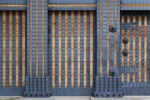 Reinforced door in Japan