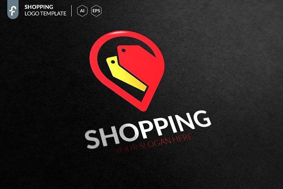 Shopping Location Logo in Logo Templates