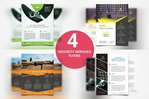 Security Services Flyers