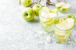 Sour Apple cocktail