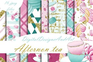 Afternoon tea pattern