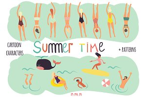 Summer Time Graphic Collection