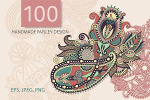 100 PAISLEY DESIGN