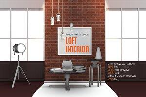 Loft Interior Set