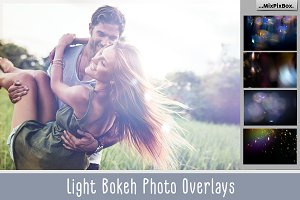 60 Light Bokeh Overlays