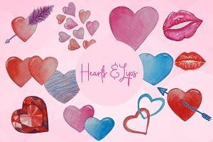 Hearts & Lips