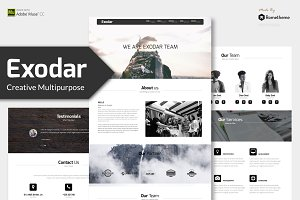 Exodar - Creative Muse Template