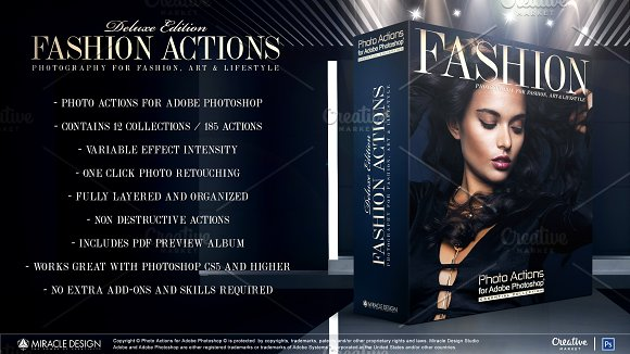Actions For Photoshop Fashion
