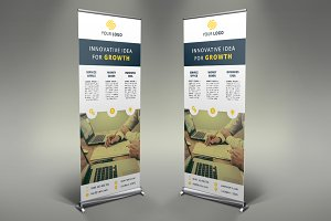 Business Roll Up Banner #077