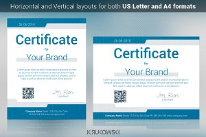 IT Certificate Template