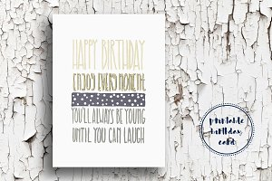 Elegant Birthday Card