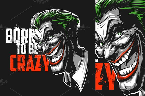 Gambar Kartun Joker Batman Trackback Designtube Creative Design