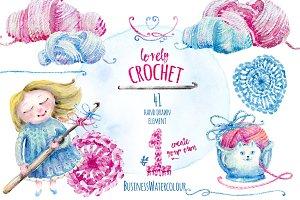 Lovely Crochet Clipart #1