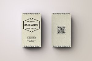Simple Textured Business Card - 20