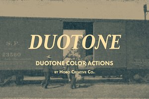 Duotone Color Actions