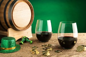 St. Patrick's Day Wine