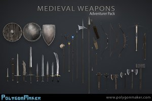 Adventurer Pack - Medieval Weapons