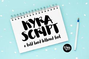 Kyra Script Brush Font