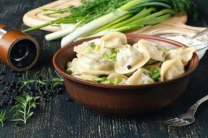 boiled meat dumpling