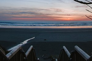 Pacific Northwest Coast Beach