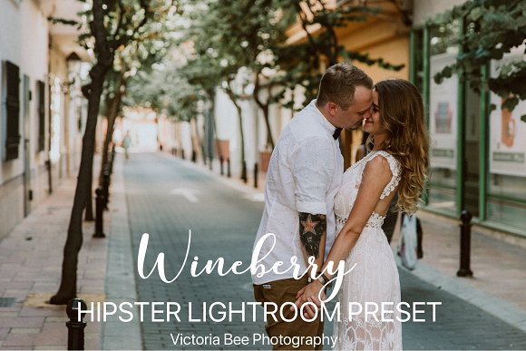 WINEBERRY Hipster Lightroom Preset