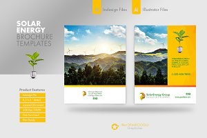 Solar Energy Brochure Templates