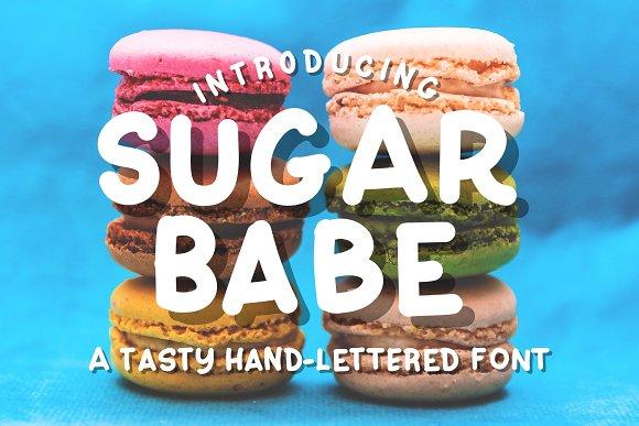 Sugar Babe Hand-lettered Font