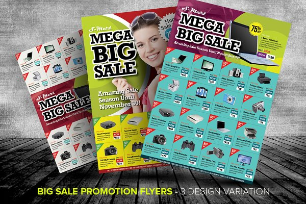 Big Sale Promotion Flyer Templates