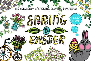 Spring & Easter - Clipart Collection
