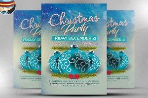 Christmas Flyer Template v1
