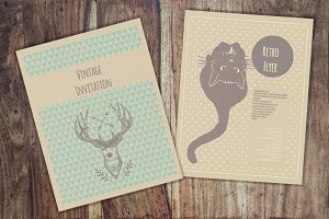 Invitation templates collection