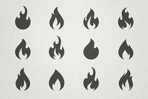Fire Frames Icon