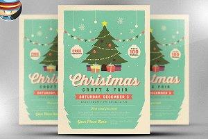 Christmas Fair 2017 Flyer Template