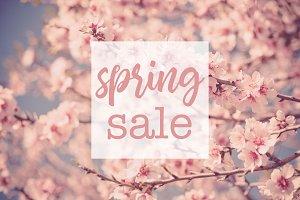Spring Sale Promotion