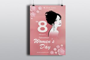 Women's Day Flyer -V784