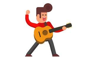 Flat Elvis Presley