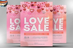 Valentine Flyer Template v4