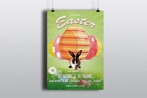 Easter Invitation Flyer-V785
