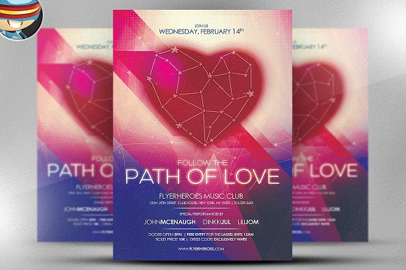 Valentine Flyer Template V5