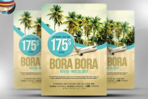 Travel Flyer Template v1