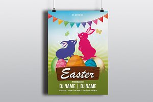 Easter Invitation Flyer-V786
