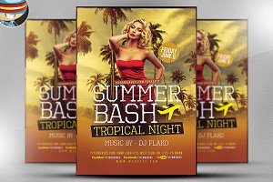 Summer Bash Flyer Template V2