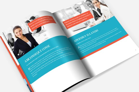 Indesign Brochure Template Brochure Templates Creative Market