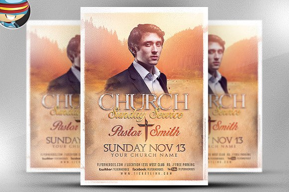 Church Flyer Template V1