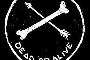 T-Shirt Design - Dead or Alive